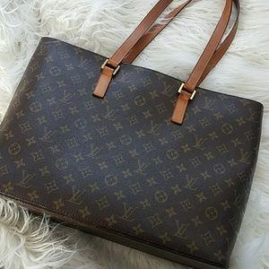 100% Authentic Louis Vuitton Luco Bag